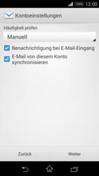 Sony D2203 Xperia E3 - E-Mail - Konto einrichten - Schritt 16