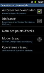 Samsung I9100 Galaxy S II - MMS - Configuration manuelle - Étape 6