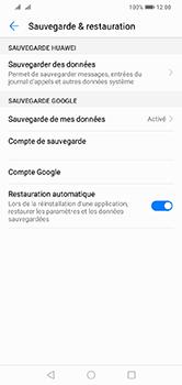Huawei Y7 (2019) - Données - créer une sauvegarde avec votre compte - Étape 8
