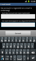 Samsung I9100 Galaxy S II - E-mail - Handmatig instellen - Stap 15