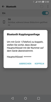 LG G6 - Bluetooth - Geräte koppeln - 9 / 11