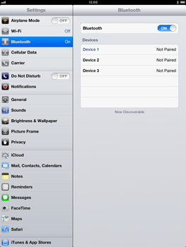 Apple iPad Retina - Bluetooth - connecting devices - Step 7