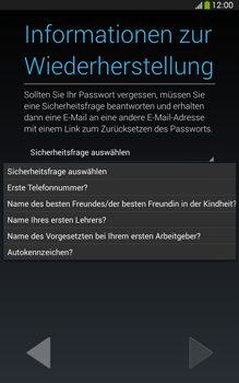 Samsung T315 Galaxy Tab 3 8-0 LTE - Apps - Konto anlegen und einrichten - Schritt 13