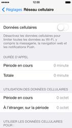 Apple iPhone 5 iOS 7 - Internet et roaming de données - Comment vérifier que la connexion des données est activée - Étape 4