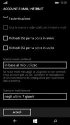 Microsoft Lumia 535 - E-mail - configurazione manuale - Fase 17