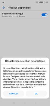 Huawei P20 Lite - Réseau - Sélection manuelle du réseau - Étape 7