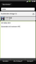 HTC Sensation - E-Mail - E-Mail versenden - 12 / 14