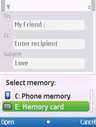 Nokia C5-00 - E-mail - Sending emails - Step 9