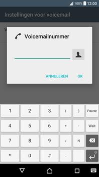 Sony Xperia XA Ultra (F3211) - voicemail - handmatig instellen - stap 8
