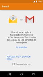 Motorola Moto E (1st Gen) (Lollipop) - E-mails - Ajouter ou modifier un compte e-mail - Étape 4