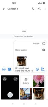 Oppo Reno 4Z - Contact, Appels, SMS/MMS - Envoyer un MMS - Étape 21