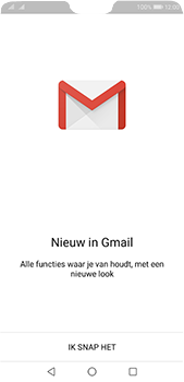 Huawei P20 Pro - E-mail - Handmatig instellen (gmail) - Stap 4