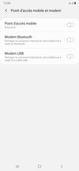 Samsung Galaxy Note20 Ultra 5G - Internet et connexion - Utiliser le mode modem par USB - Étape 8