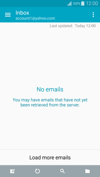 Samsung Galaxy Note 4 - E-mail - 032b. Email wizard - Yahoo - Step 4