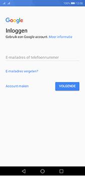 Huawei P20 Pro - Applicaties - Account instellen - Stap 3