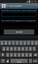 Samsung S7710 Galaxy Xcover 2 - E-mail - Handmatig instellen - Stap 20