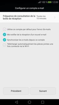 Huawei Mate S - E-mail - Configuration manuelle (outlook) - Étape 8