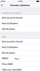 Apple iPhone SE - iOS 10 - Internet - Configuration manuelle - Étape 8