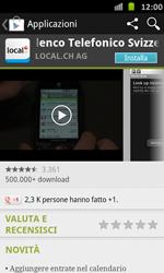 Samsung Galaxy S Advance - Applicazioni - Installazione delle applicazioni - Fase 7