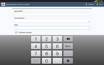 Samsung Galaxy Tab 3 10-1 LTE - E-mail - configurazione manuale - Fase 13