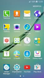 Samsung Galaxy S6 Edge - Applicazioni - Come verificare la disponibilità di aggiornamenti per l