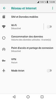 Crosscall Trekker X4 - Internet et connexion - Partager votre connexion en Wi-Fi - Étape 5