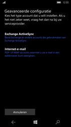 Microsoft Lumia 950 - E-mail - Account instellen (IMAP zonder SMTP-verificatie) - Stap 8