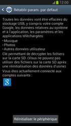 Samsung Galaxy Note II - Téléphone mobile - Réinitialisation de la configuration d