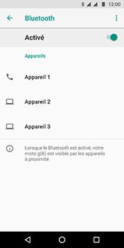 Motorola Moto G6 - Internet et connexion - Connexion avec un équipement multimédia via Bluetooth - Étape 8