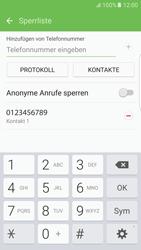 Samsung G925F Galaxy S6 edge - Android M - Anrufe - Anrufe blockieren - Schritt 11