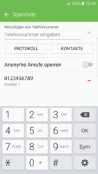 Samsung Galaxy S6 Edge - Anrufe - Anrufe blockieren - 11 / 12