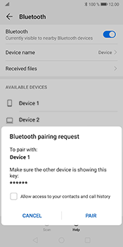 Huawei Mate 10 Pro - Android Pie - Bluetooth - Connecting devices - Step 7