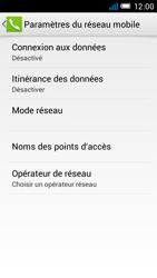 Alcatel One Touch Idol Mini - Internet et roaming de données - Comment vérifier que la connexion des données est activée - Étape 6