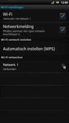 Sony LT22i Xperia P - wifi - handmatig instellen - stap 9