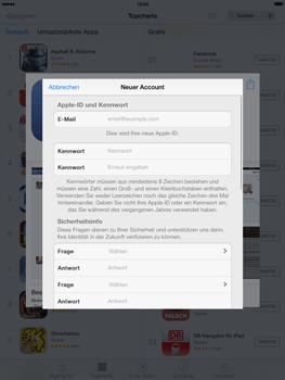 Apple iPad mini iOS 7 - Apps - Einrichten des App Stores - Schritt 12