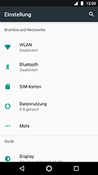 Motorola Moto G5s - Netzwerk - Netzwerkeinstellungen ändern - 4 / 8