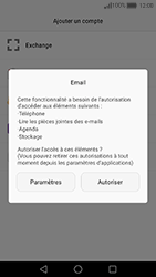 Huawei Nova - E-mail - Configuration manuelle (outlook) - Étape 5