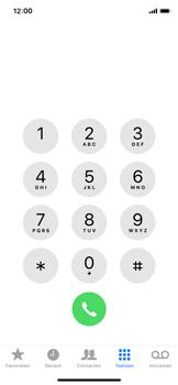Apple iPhone XS - Voicemail - Voicemail deactiveren - Stap 3