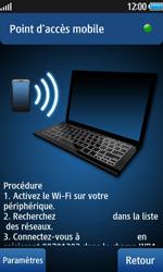 Samsung Wave 2 - Internet et connexion - Partager votre connexion en Wi-Fi - Étape 11