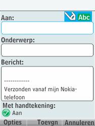 Nokia 301-1 - E-mail - E-mails verzenden - Stap 7