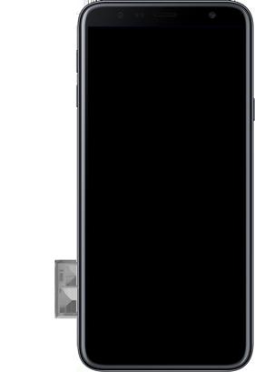 Samsung Galaxy J4 Plus - Toestel - Simkaart plaatsen - Stap 7