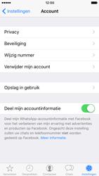 Apple iPhone 7 (Model A1778) - Privacy - Maak WhatsApp veilig en beheer je privacy - Stap 6