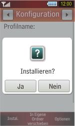 Samsung Star - Internet - Automatische Konfiguration - 7 / 10