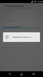 Sony Xperia Z3 Compact - Network - Manual network selection - Step 9