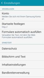 Samsung G850F Galaxy Alpha - Internet - Manuelle Konfiguration - Schritt 27