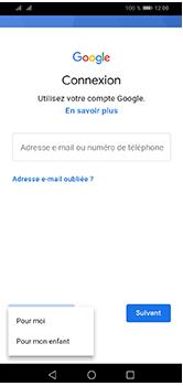 Huawei Y5 (2019) - Applications - Créer un compte - Étape 5