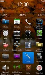 BlackBerry 9860 Torch - Instellingen - ontvangen via SMS - Stap 3