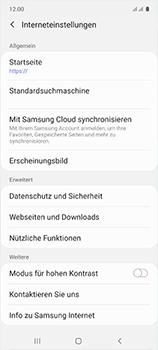 Samsung Galaxy A51 - Internet und Datenroaming - Manuelle Konfiguration - Schritt 27