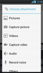 LG P700 Optimus L7 - E-mail - Sending emails - Step 10