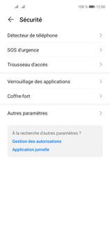 Huawei P40 Lite 5G - Sécuriser votre mobile - Personnaliser le code PIN de votre carte SIM - Étape 4